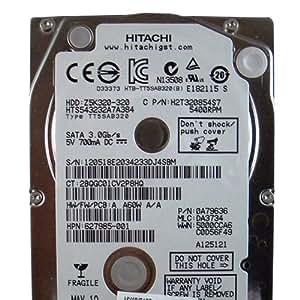 HP Inc. HDD 320GB 5400RPM 7MM HGST EAG, 627985-001