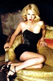 "January Jones Poster 24""x36"" wearing Sexy Black Dress"