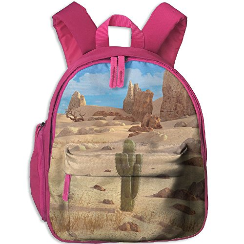 Mini School Backpack Make Your Own With Desert For Kindergarten Unisex Child Pink