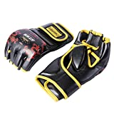 Cheerwing Fingerless Boxing Gloves MMA UFC Sparring