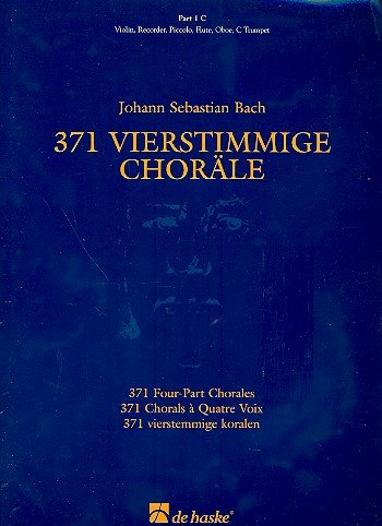 371 4-part Chorales C Part 1 (De Haske Concert Band Full Set)