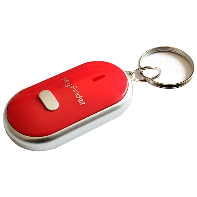 Llavero localizador de llaves remoto con luz LED y sistema ...