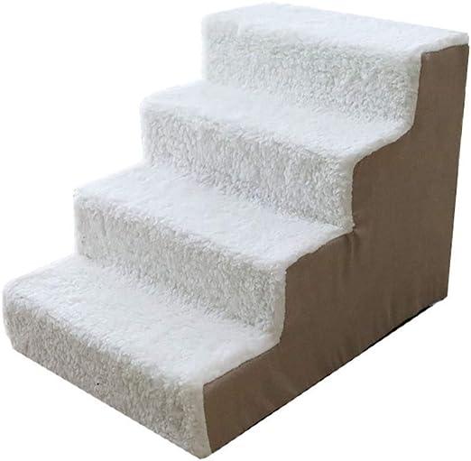 Escalera Escalones para Perro Y Gato Easy Step-Escalera De Mascota 2 Colores Antideslizante Lavable 38X54X40cm (Color : B, Size : 1pack): Amazon.es: Productos para mascotas