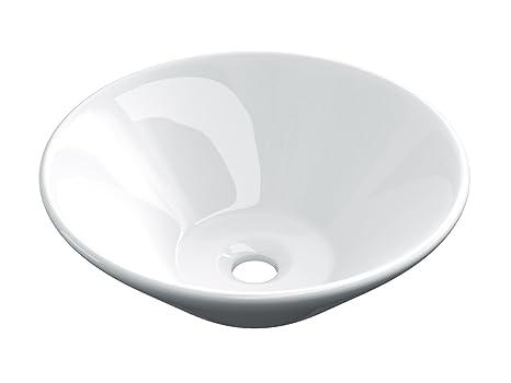 starbath - Lavabo di ceramica soprapiano SCONICO. Lavandino da ...