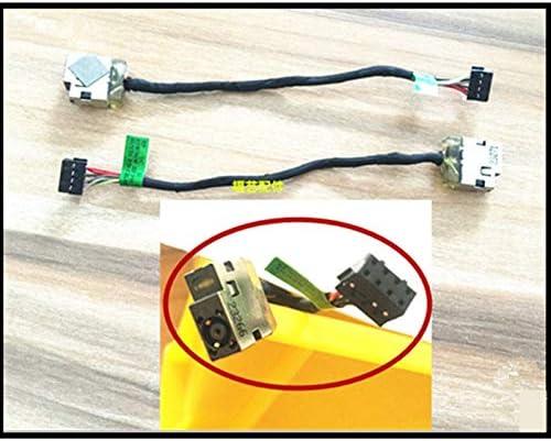 Cables /& Connectors Laptop DC Power Jack Cable Charging Connector Port Wire for HP Envy 14 15 Envy 17 envy17 Pavilion 11-E 17-P 717370-YD6 4.53.0 Cable Length: Buy 5 Pieces