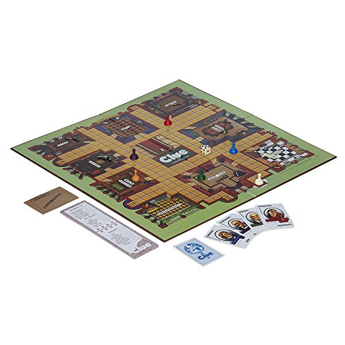 Retro Series Clue 1986 Edition Game by Hasbro (Image #1)