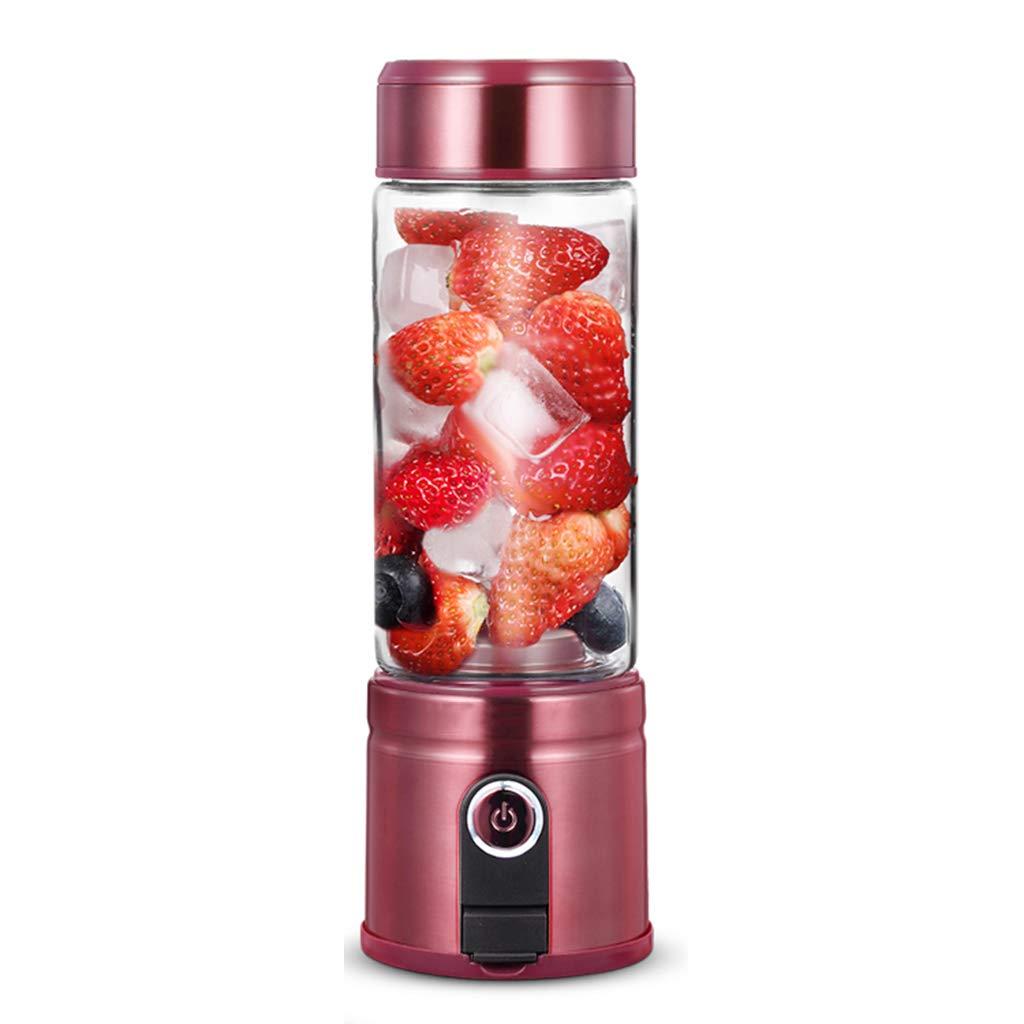 上品 ジューサーミキサー Red, ポータブル電気ジュース : 家庭用充電ジューサー B07L5KQF1K 小型ポケットジュース機 キッチン食品補充機 多機能ジュースカップ 自動果物と野菜ミキサー (Color : Red, Size : 8*8*25cm(3*3*10in)) 8*8*25cm(3*3*10in) Red B07L5KQF1K, ヤベムラ:a490f2f0 --- mcrisartesanato.com.br