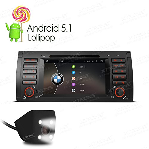 XTRONS Quad Core 7 Inch Android 5.1 Lollipop Car Stereo Mult