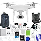 "DJI Phantom 4 Pro Quadcopter + Xtreme VR Vue II (For iPhone/Android Screen Size 3.5""-6"") + 2 Intelligent Flight Battery (5350mAh) + Backpack Pro II + Multi-Charger Hub + Sunshade Hood & More!"