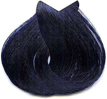 Tahe Lumière ExpressTinte de Pelo Profesional Coloración de Cabello Permanente Tinte Negro Azul Tono1.1 100 ml
