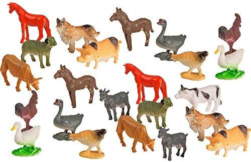 Mini Farm Animals 1 Dozen