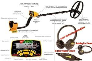 Garrett Ace 350 Handheld Metal Detector  DD Coil + Headphones