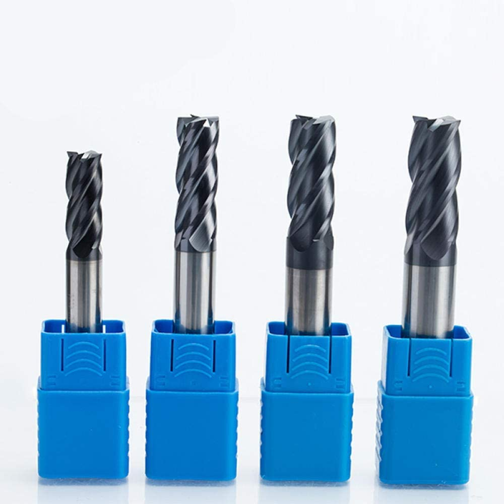 Drill Bit Sets 1Pc 4 Flutes Solid Carbide End Mill Cnc Milling Cutter Hrc45 Tungsten Steel Tiain Coating Router Bits For Cnc Machine-4629 Durable And Strong 4637
