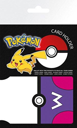 10 cm Pokemon Porta Masterball credito 7 carte x di qB8wRBX
