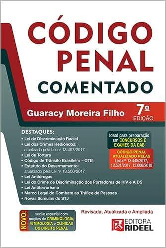 Código Penal comentado: Amazon.es: Guaracy Moreira Filho: Libros