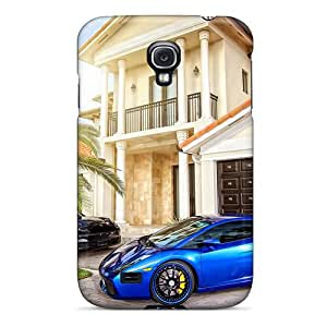 For Galaxy Case, High Quality Lucky Guy Has A Lamborghini A Porsche For Galaxy S4 Cover Cases