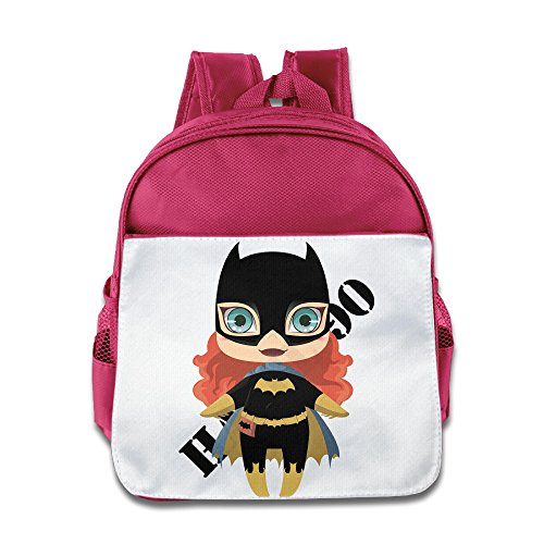 HYRONE Bat Girl Cartoon Kids Shoulders Bag For 1-6 Years Old Pink - Custom Batgirl Costumes