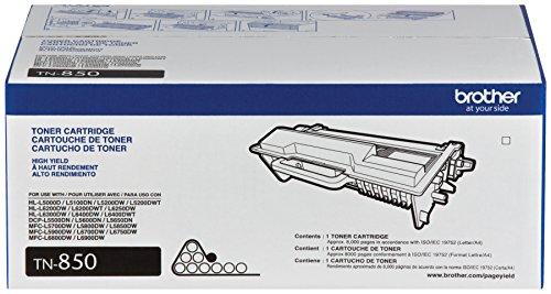 51Dieu1BEML - Brother Genuine TN850 High Yield Mono Laser Toner Cartridge