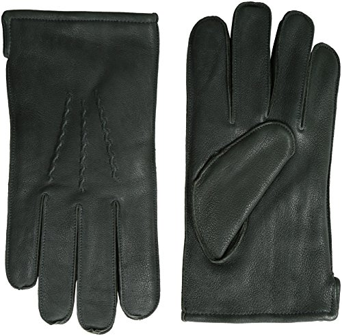 GII Men's Supple Deerskin Gloves with Thinsulate Insulation, Grey, Large by GGI (Image #1)