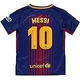 Camiseta 1ª Equipación Replica Oficial FC BARCELONA 2017-2018 Dorsal MESSI  - Tallaje ADULTO ( bda74b0c32c00