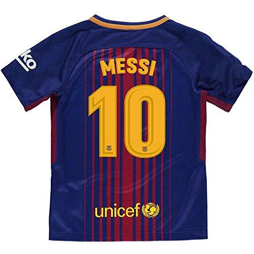 5740e57a9c Camiseta 1ª Equipación Replica Oficial FC BARCELONA 2017-2018 Dorsal MESSI  - Tallaje ADULTO (