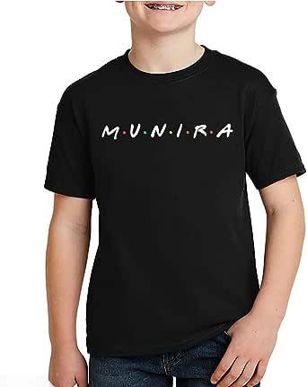 kharbashat Munira T-Shirt for Boys, Size 36 EU