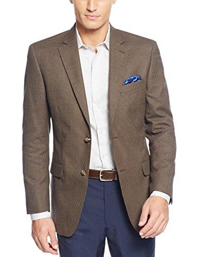 Nice Tasso Elba Green Twill Two Button New Men's Sport Coat free shipping