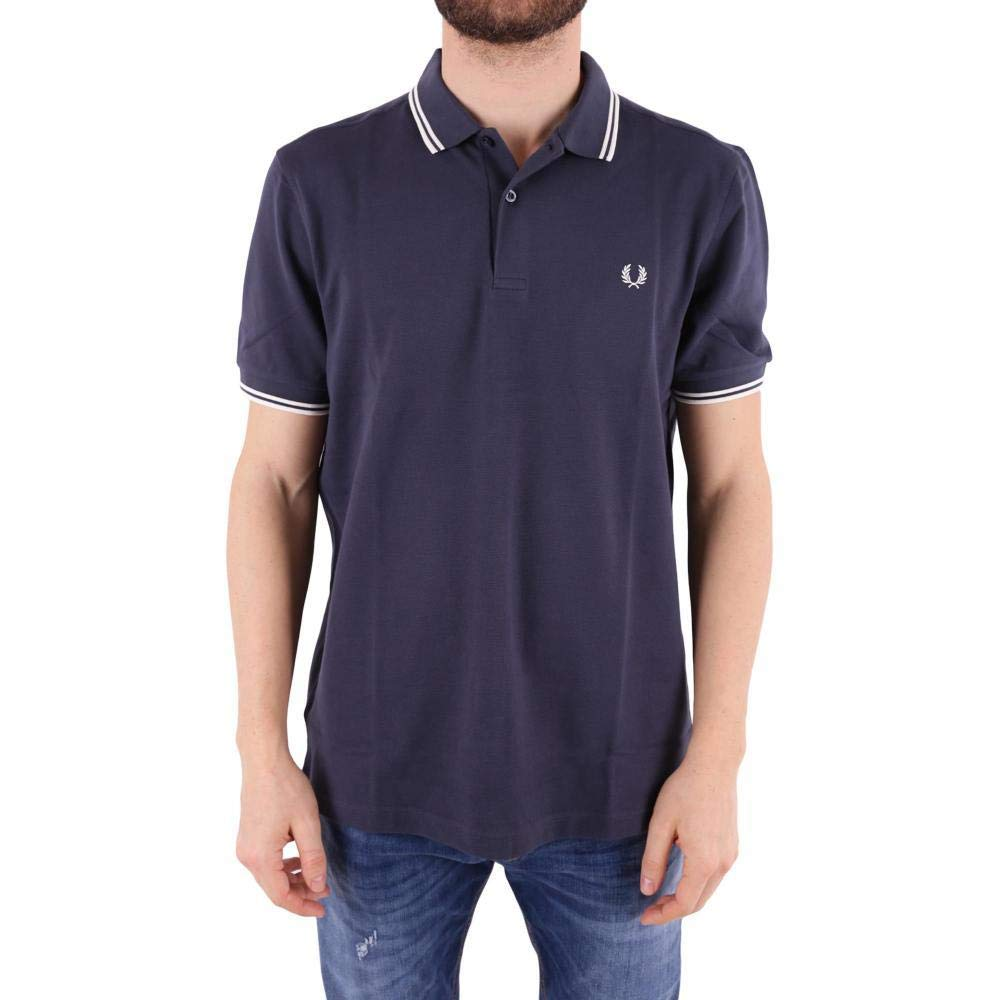 Fred Perry FP Twin Tipped Shirt, Maglietta Uomo M3600-238
