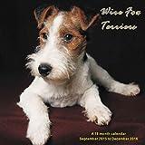 Wire Fox Terriers Calendar - 2016 Wall calendars - Dog Calendars - Monthly Wall Calendar by Magnum