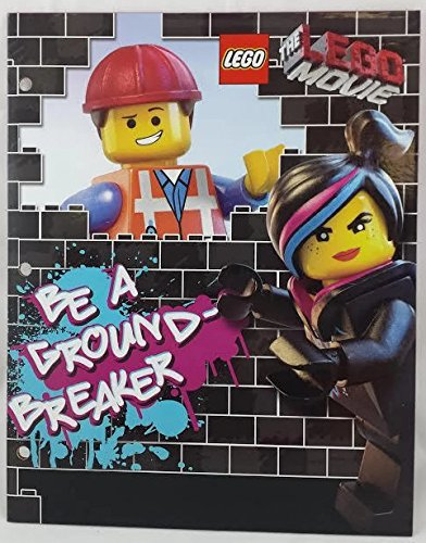 "The LEGO Movie: 2-Pocket Portfolio Folder: WyldStyle ""Be A Ground-Breaker"""