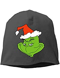 30816021ed11f The Grinch Dr Seuss Santa Unisex Warm Winter Hat Knit Beanie Skull Cap Cuff  Beanie Hat