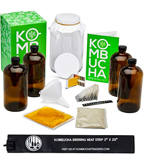 Complete Kombucha Starter Brewing Kit