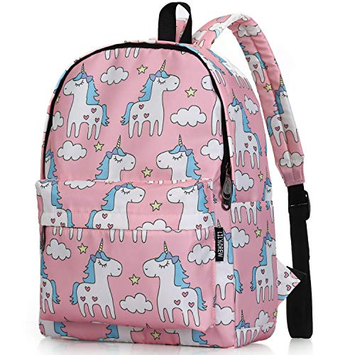 Lightweight Travel Backpack for Women and Teens (Unicorn Pink Medium)