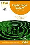 English Legal System 2009-2010, Gary Slapper and David Kelly, 0415480329