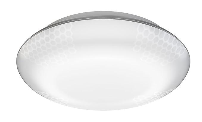 Steinel Quattro - Lámpara LED de techo exterior, plata 10W ...