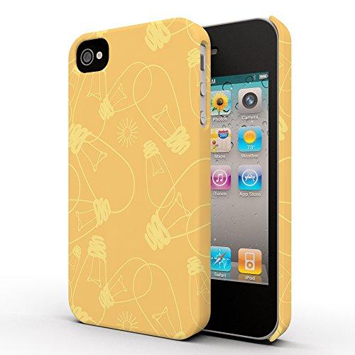 Koveru Back Cover Case for Apple iPhone 4/4S - Bulbs Everywhere