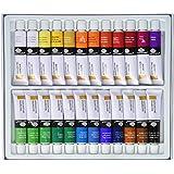 Royal & Langnickel 241823 241823 Gouache Color Artist Tube Paint, 12ml, 24-Pack