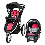 Baby Trend Pathway 35 Jogger Travel System, Optic Pink For Sale