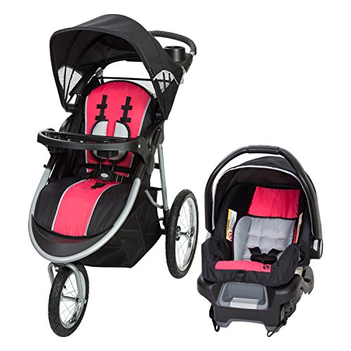 Baby Trend Pathway 35 Jogger Travel System, Optic Pink