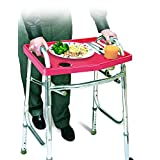 Universal Walker Tray Table - Red