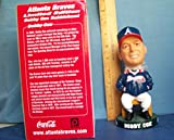 2003 BOBBY COX FIRST/ROOKIE BOBBLEHEAD SGA ATLANTA BRAVES MANAGER LOOKS MINT