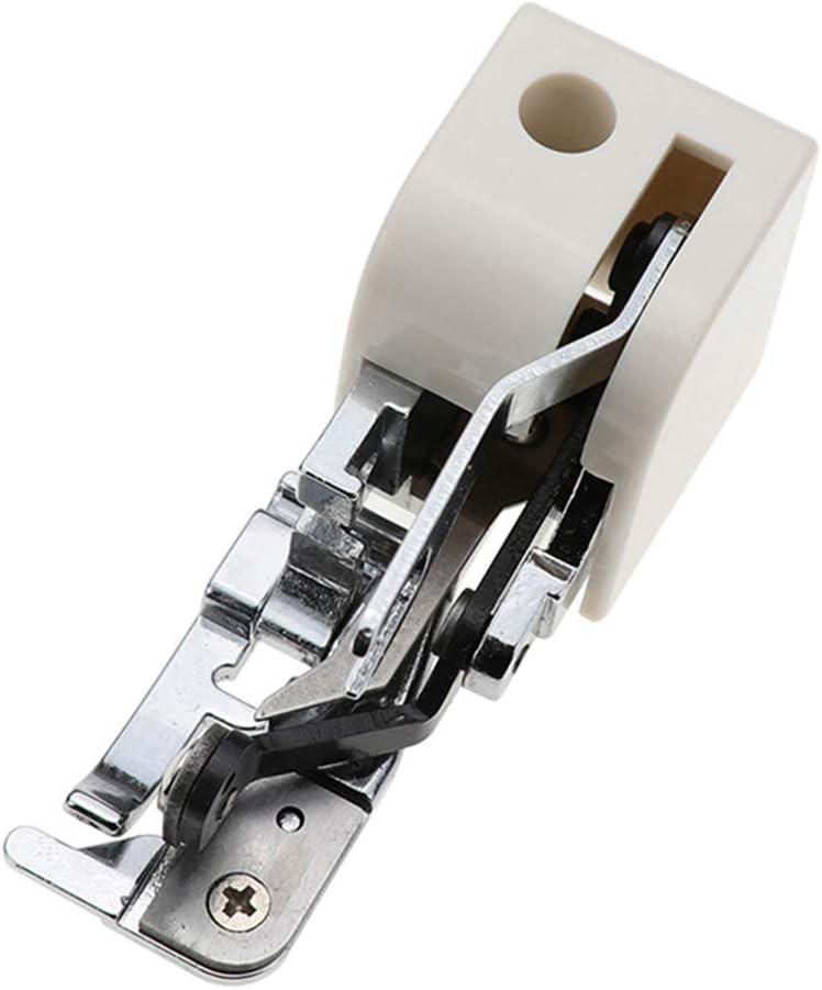Pied de couture lat/éral Abcidubxc Machine /à coudre domestique Machine /à coudre pour verrouiller le pied de couture