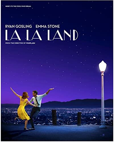 Ryan Gosling 8 Inch X10 Inch Photograph La La Land 2016 W Emma Stone Dancing Title Poster Kn At Amazon S Entertainment Collectibles Store