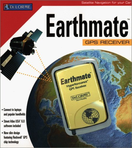 DeLorme Earthmate GPS Receiver (Serial Port Interface) (NOT USB) Earthmate Gps Receiver