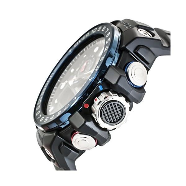 CASIO Reloj Analógico-Digital para Hombre Correa en Resina GWN-1000B-1BER 4