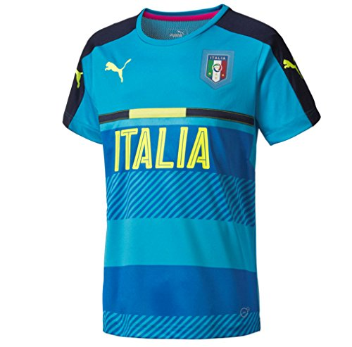 2016-2017 Italy Puma Training Jersey (Blue) (Italy Training Jersey)