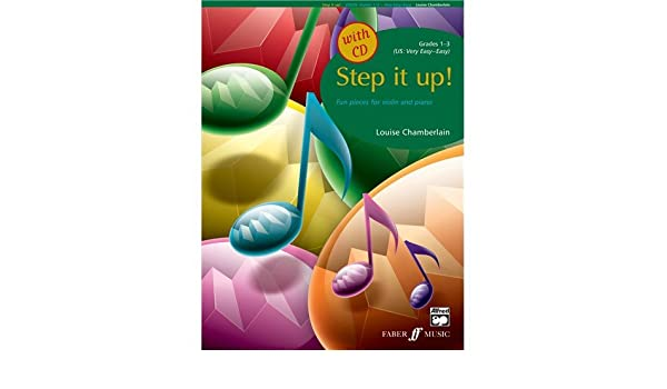 Louise Chamberlain: Step It Up! Violin (Book/CD). Partituras, CD ...