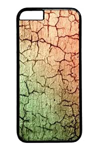 Cracked Concrete abstract PC Case Cover For HTC One M7 Black