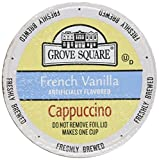 keurig cappuccino grove - 40-count cups Portion Packs for Keurig K-cup Brewers, Grove Square Cappuccino