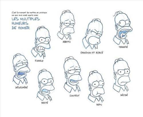 Dessin Bart Simpson Etape Par Etape